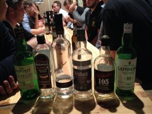 whiskys leeg