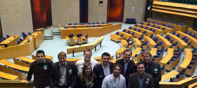 Bezoek aan de Tweede Kamer