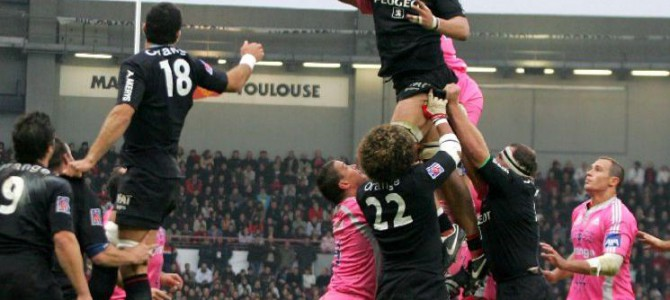 Top 14 wedstrijd in Lille 17 mei